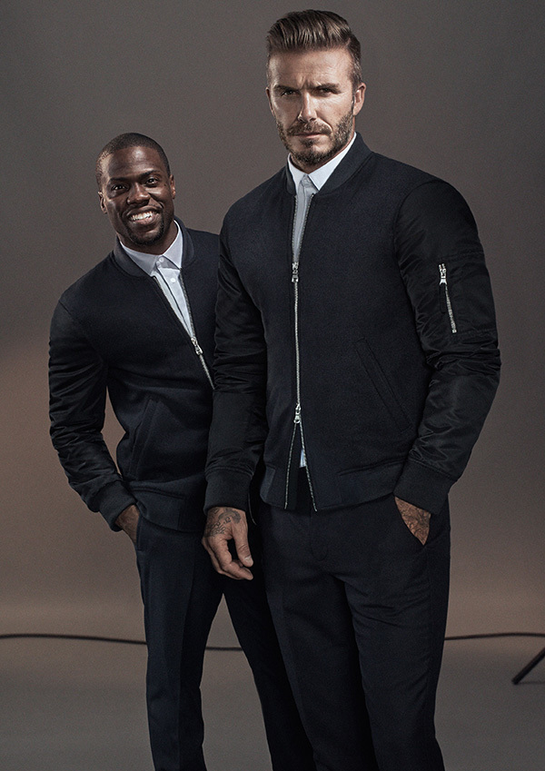 David Beckham and Kevin Hart in H&M Campaign for Modern Essentials - BellanNaija - September 2015002