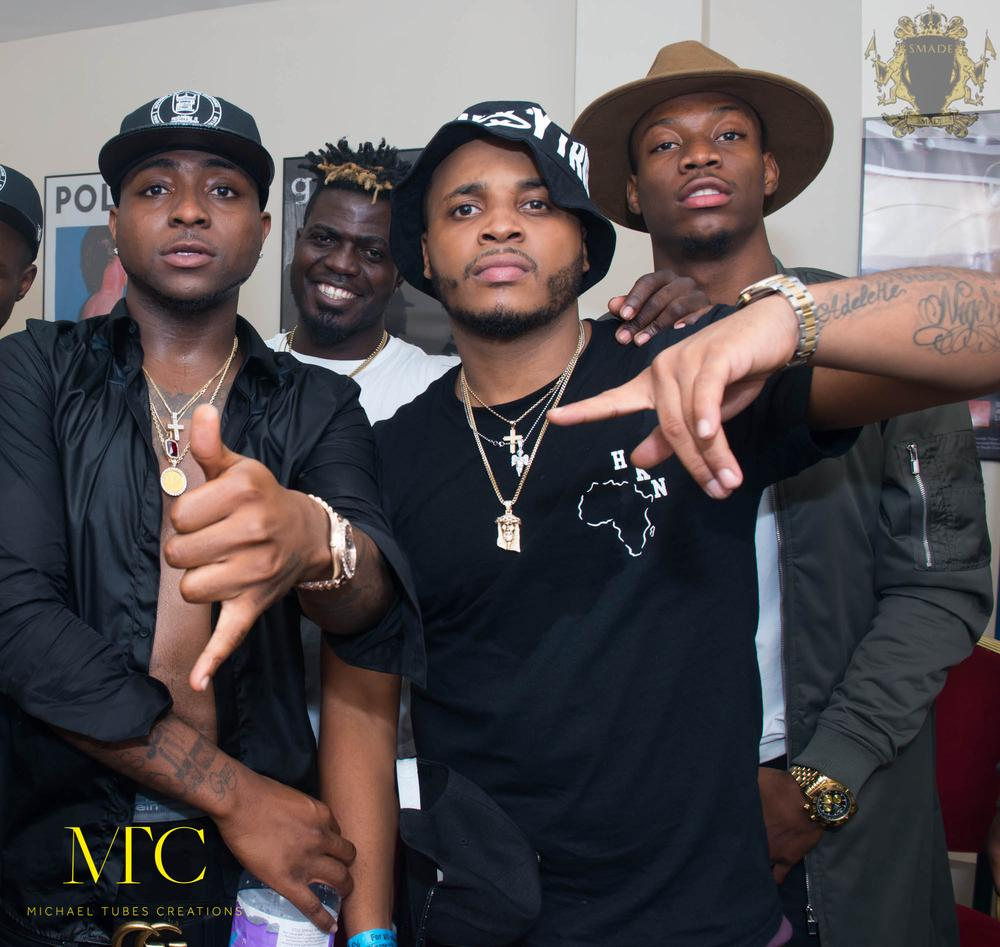 b red and davido relationship test
