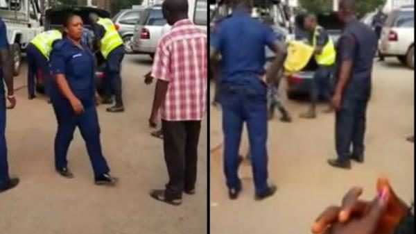 Image result for Nigerian arrested in Ghana after a dead woman was found in car boot (video)