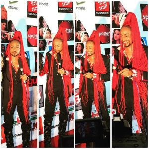 Denrele Edun the Event Show Port harcourt 2015