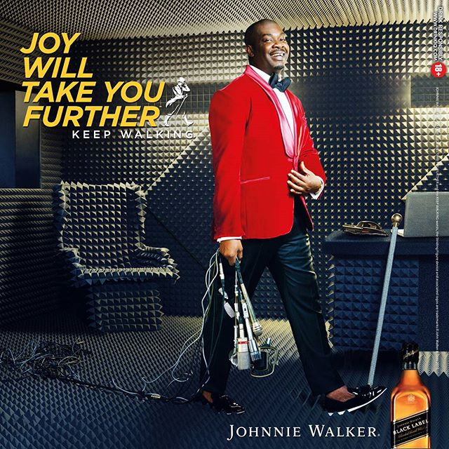 Don Jazzy Johnnie Walker Joy Ambassador BellaNaija