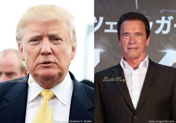 Donald Trump Arnold Schwerzenegger