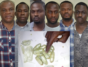 NDLEA Arrests 6 in Lagos for Swallowing $156,000