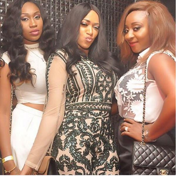 Ebube Nwagbo, Rukky Sanda & Ini Edo