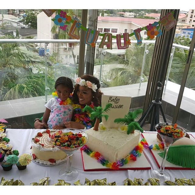 Elohor Aisien Hawaii Baby Shower BN 1