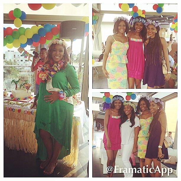 Baby Shower Favors Hawaii agbani darego, tiwa savage, ify okoye & friends celebrate elohor