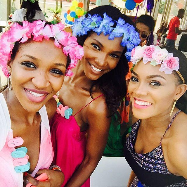 Idia Aisien, Agbani Darego & Ify Okoye