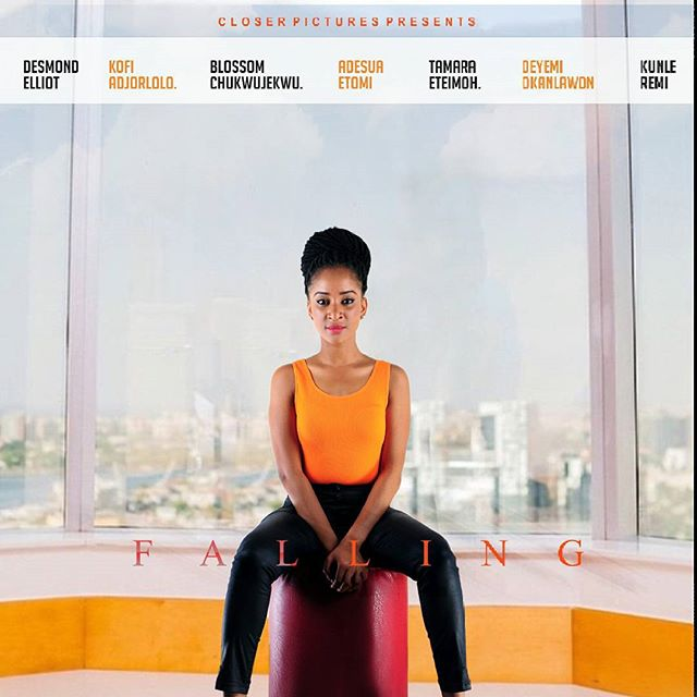 Falling Nollywood Movie Adesua Etomi 2