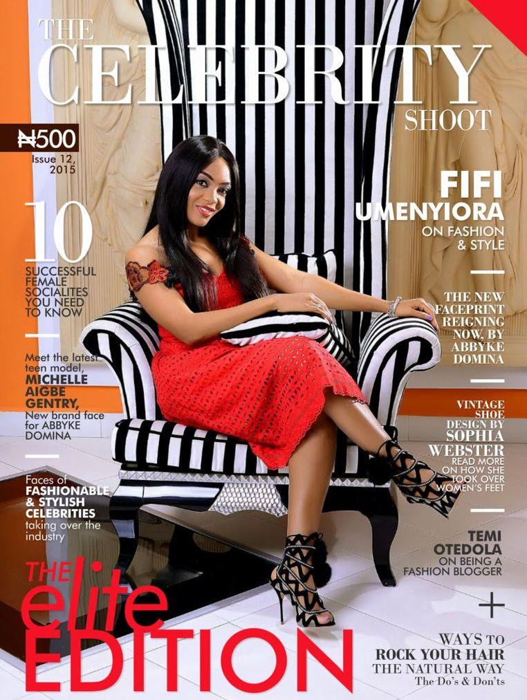 Fifi Umenyiora for The Celebrity Shoot - BellaNaija - September 2015