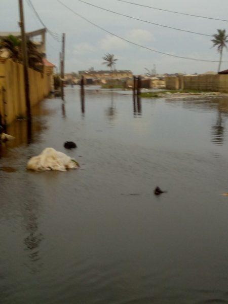 Flood in Alpha Beach 3 BellaNaija