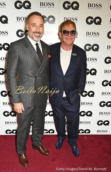 David Furnish & Sir Elton John