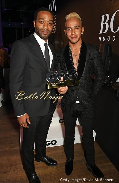 Chiwetel Ejiofor & Lewis Hamilton