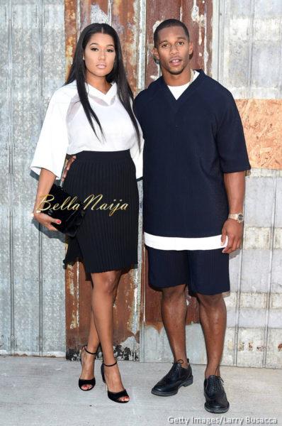 Elaina Watley & Victor Cruz