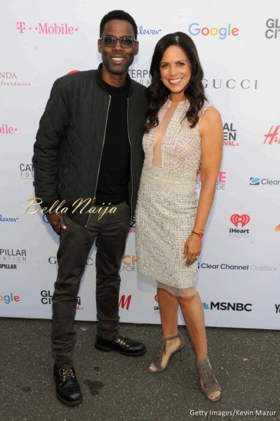 Chris Rock & Soledad O'Brien