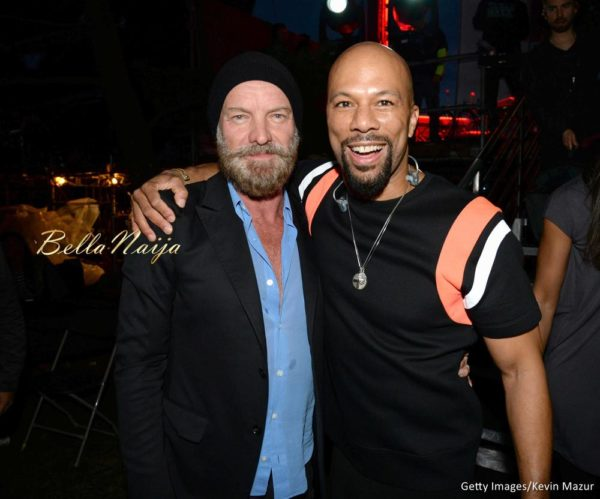 Sting & Common