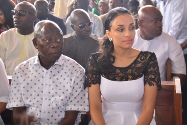 At their Thanksgiving Service - Daily Post
