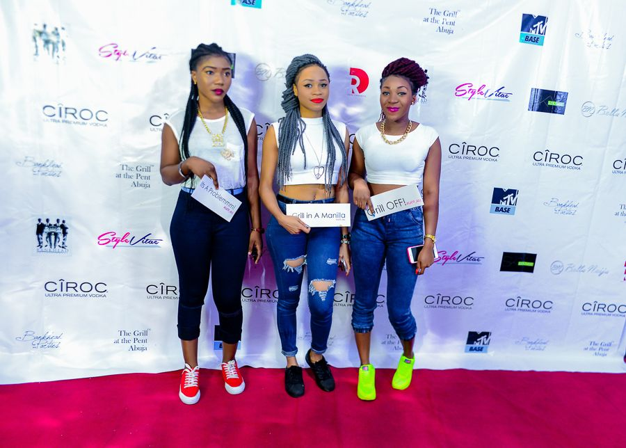 Grill At The Pent Abuja White and Denim Edition - Bellanaija - September009