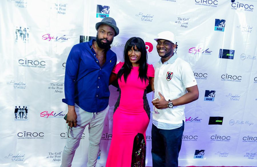 Grill At The Pent Abuja White and Denim Edition - Bellanaija - September010