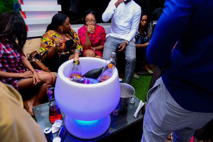 Grill At The Pent Abuja White and Denim Edition - Bellanaija - September014