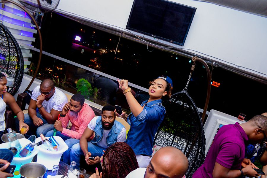 Grill At The Pent Abuja White and Denim Edition - Bellanaija - September021
