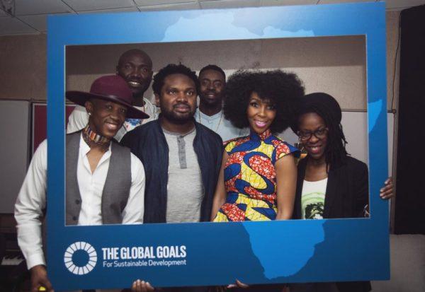 Group_shot_In_Studio_Global_Goals_Board
