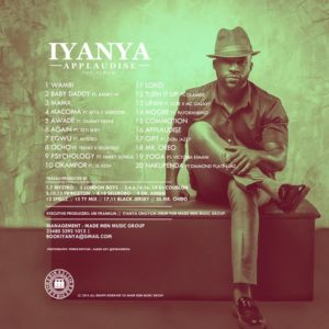 IYANYA - APPLAUDISE ALBUM COVER BACK NEW 2 tweaked