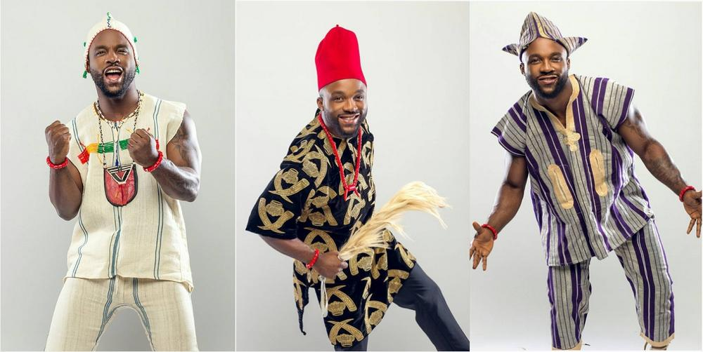 Image result for igbo hausa and yoruba men embrace