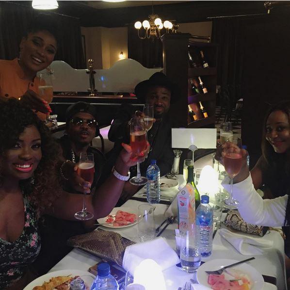 Jennifer Oguzie, Mbong Amata, Skiibii, Harrysong & Ini Edo