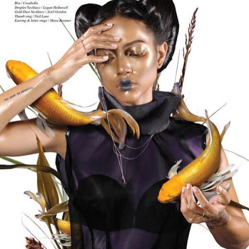 Karrueche Tran for Schon Magazine - BellaNaija - September 2015001