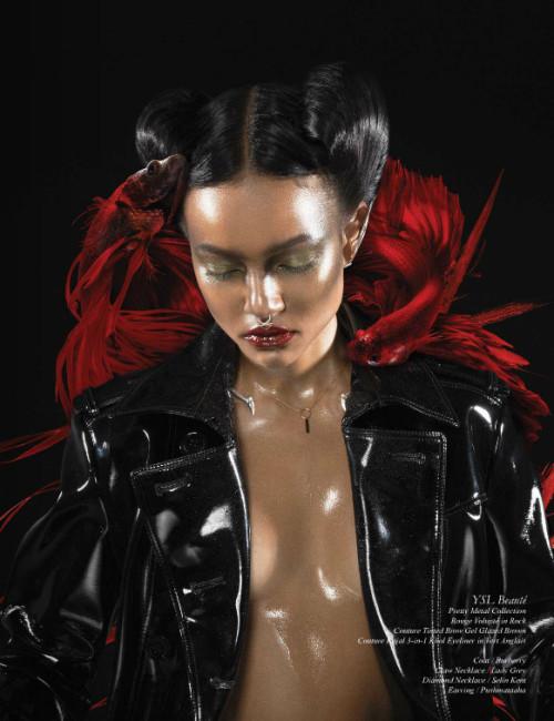 Karrueche Tran for Schon Magazine - BellaNaija - September 2015004