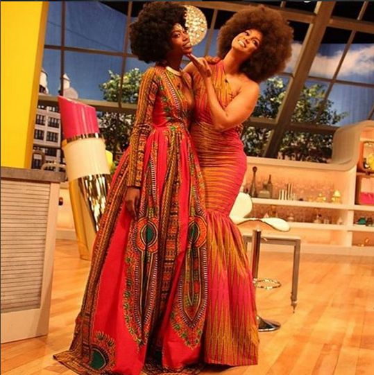 Kyemah McEntyre and Tyra Banks on The Fab Life - BellaNaija - September 2015