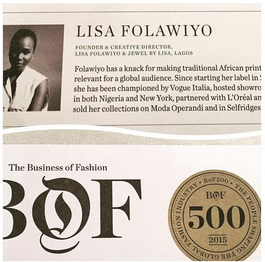Lisa Folawiyo at Business of Fashion Event - BellaNaija - September 2015006