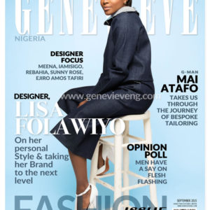 Lisa Folawiyo for Genevieve Magazine September Issue - BellaNaija - September2015