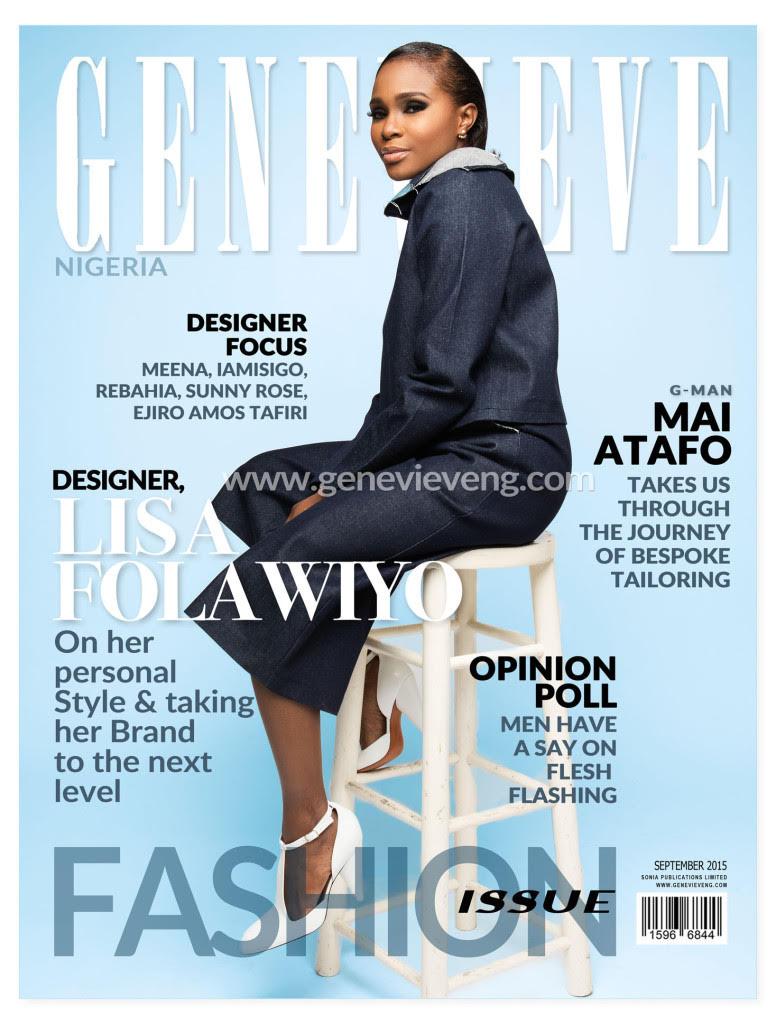Lisa Folawiyo for Genevieve Magazine September Issue - BellaNaija - September2015