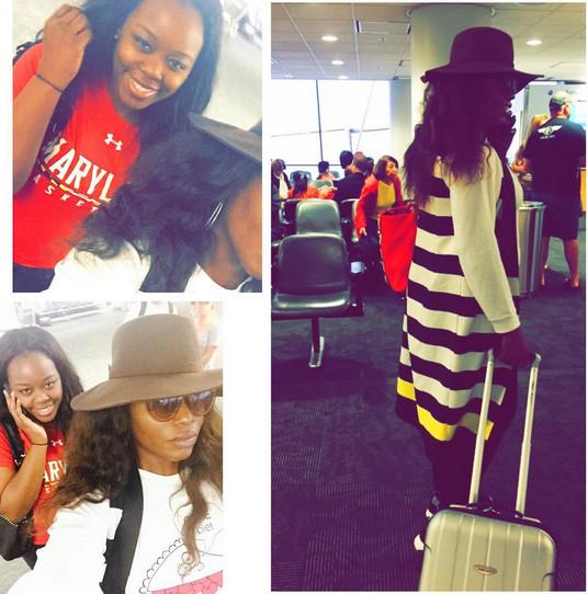 Liz Awoliyi Miami Arrival