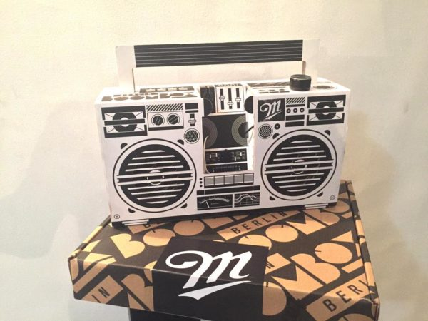 M boombox