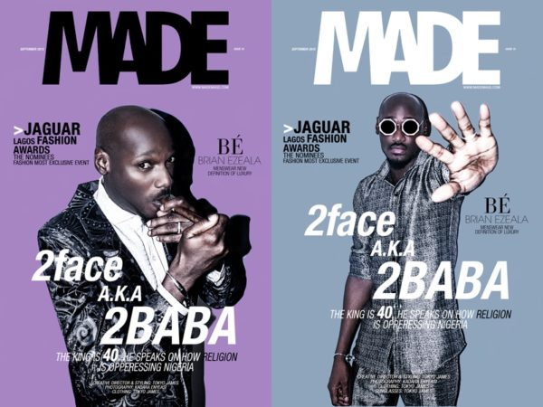 Made Magazine Cover 2Face
