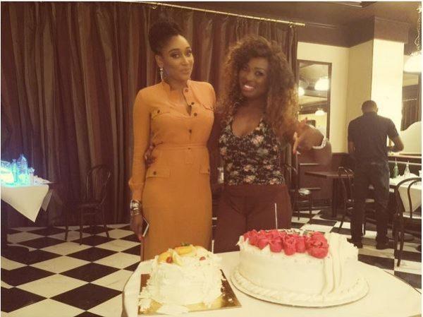 Mbong Amata & Jennifer Oguzie
