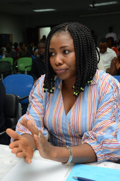 Member of the board of judges - Anita Dele-Dickson
