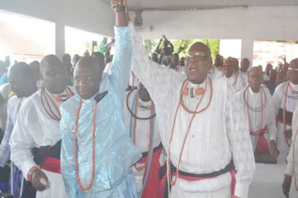 New Olu of Warri