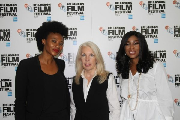 Nse Ikpe-Etim; Amanda Nevill, Chief Executive Officer, BFI; Mo Abudu, Executive Producer - Fifty