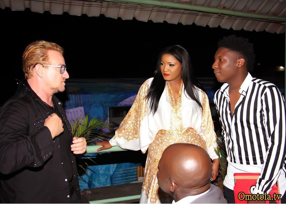 Bono, Omotola & Captain E