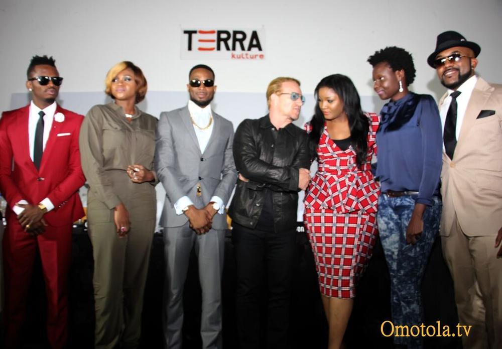 Diamond Platinumz, Waje, D'banj, Bono, Omotola, Selmor Mtukudzi, Banky W