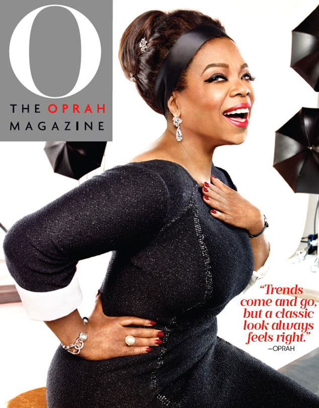 Oprah Winfrey on the October Issue of O Magazine - BellaNaija - September 2015