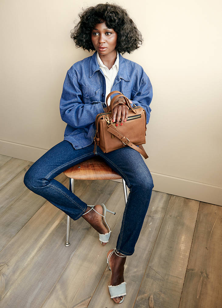 Oroma Elewa for Fossil Campaign - BellaNaija - September 2015