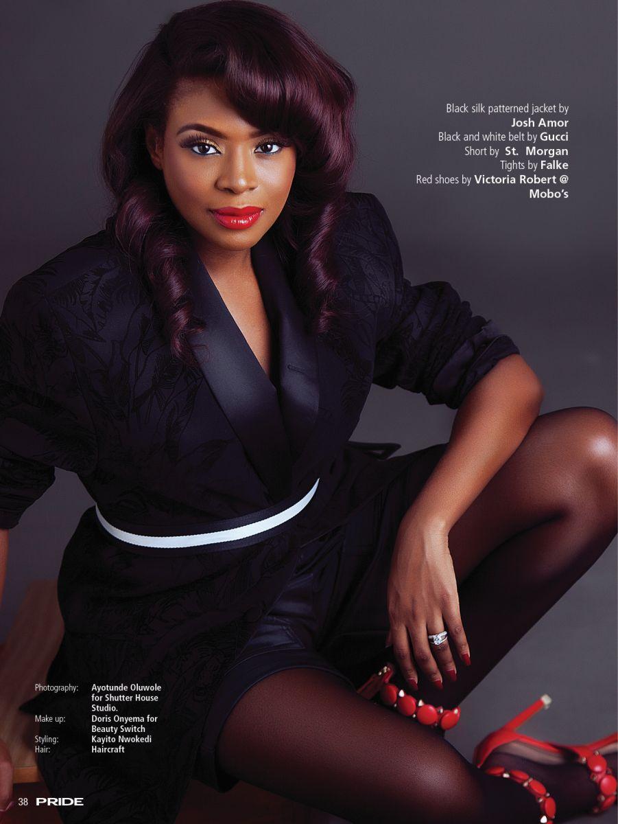 Dolapo Oni for pride magazine