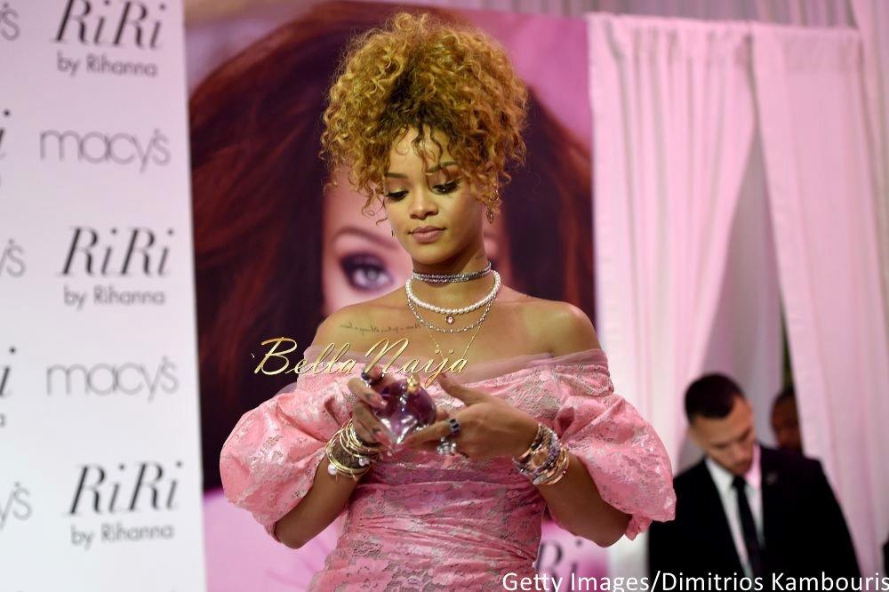 Rihanna at RiribyRihanna Fragrance Launch - Bellanaija - September001