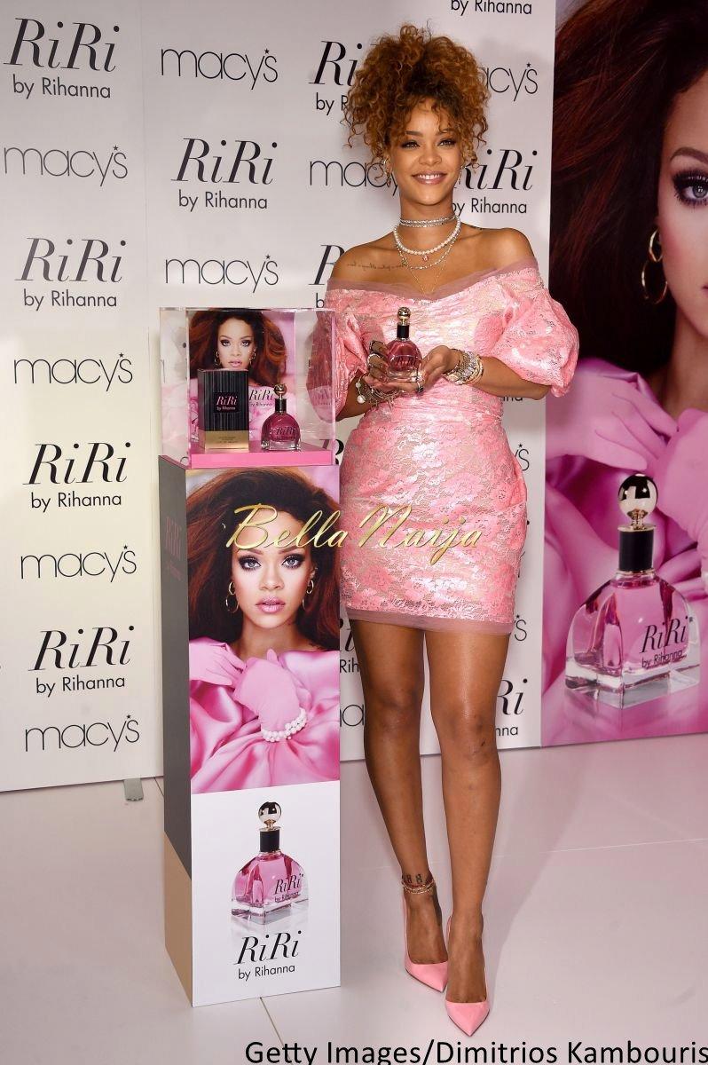 Rihanna at RiribyRihanna Fragrance Launch - Bellanaija - September002