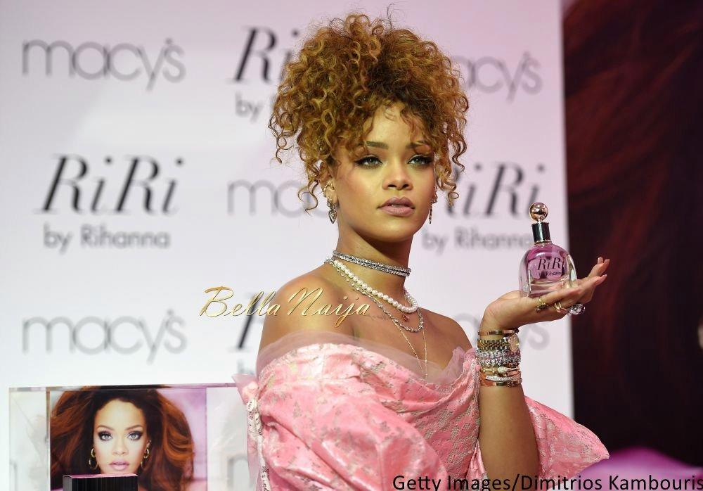 Rihanna at RiribyRihanna Fragrance Launch - Bellanaija - September004