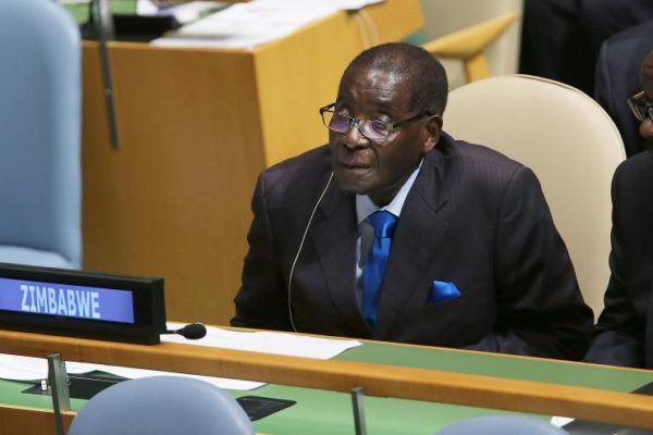 Robert Mugabe at the UN BellaNaija
